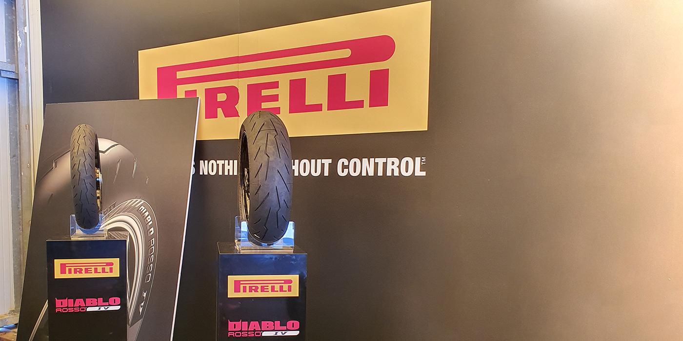 Stand Pirelli Diablo Rosso IV